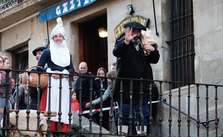 Olentzero llega a Donostia