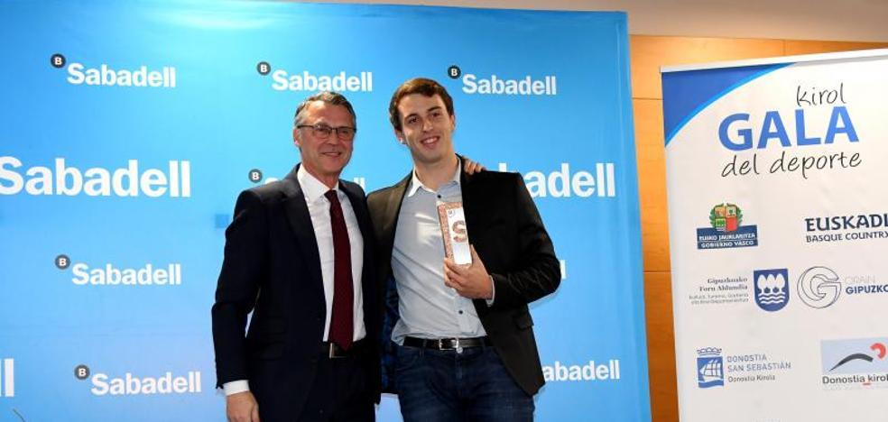 Kauldi Odriozola: «Muy orgulloso por recibir este reconocimiento»