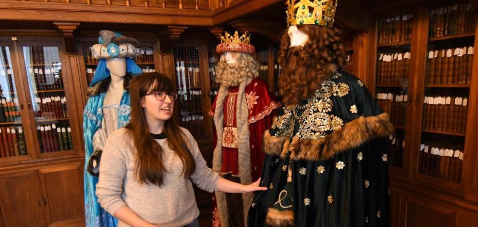 Los Reyes Magos, con vestidos 'made in Donostia'