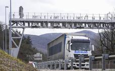 Comienza la huelga de camiones en Gipuzkoa