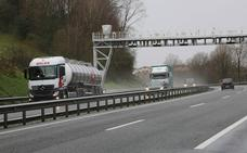 Los transportistas aseguran que la protesta contra el peaje en Gipuzkoa alcanza el 60% del seguimiento