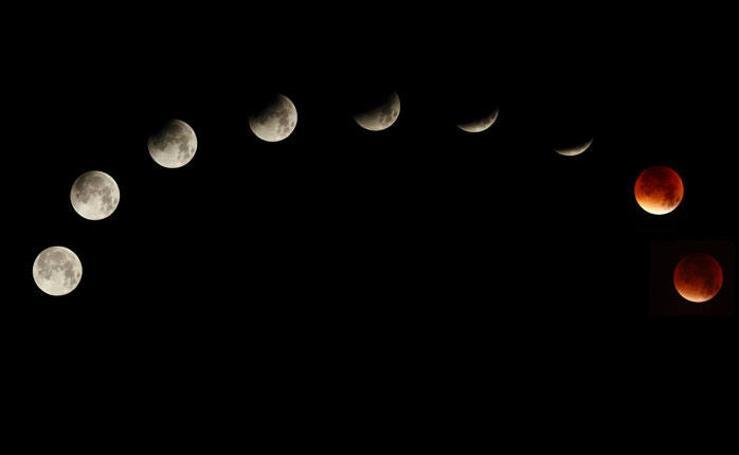 Las mejores imágenes de la superluna