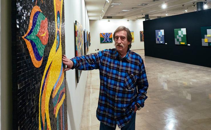 Los mosaicos coloristas de José Luis López Ros
