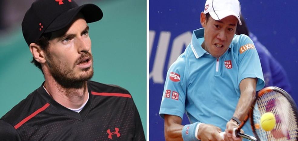 Murray y Nishikori se suman a lista de ausencias en Abierto de Australia