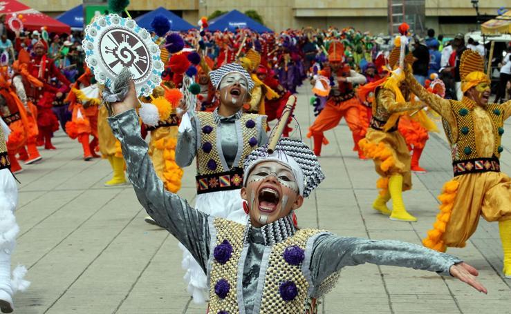 El carnaval llega a Colombia
