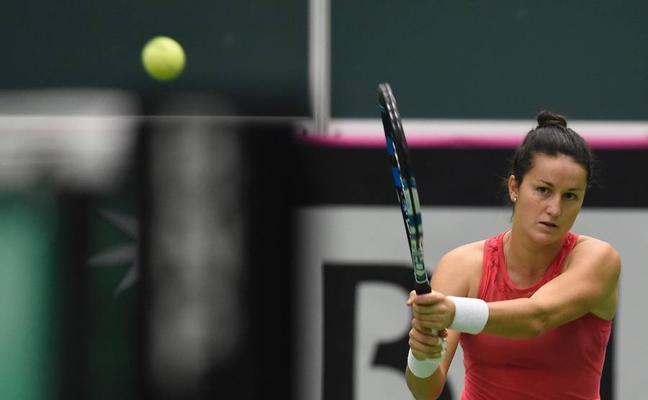 Lara Arruabarrena, eliminada en primera ronda en Sídney