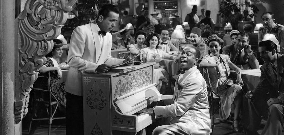 Casablancan sonbrerorik gabe
