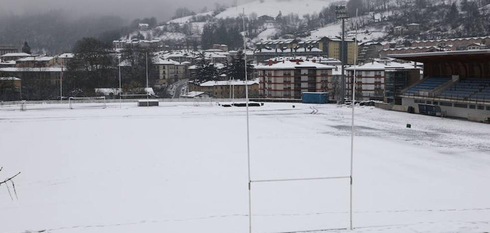 La nieve cerró Altamira