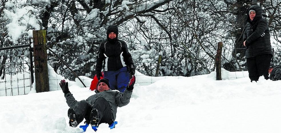 Excursión a las 'estaciones de esquí' guipuzcoanas