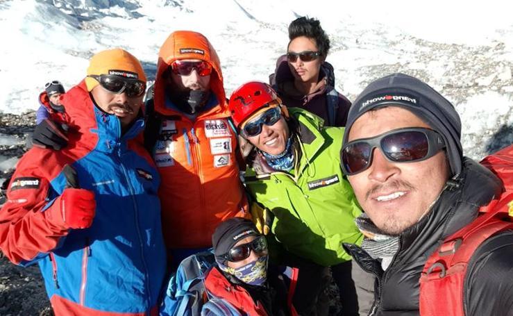 Txikon afronta el tramo más peligroso en su ascensión al Everest