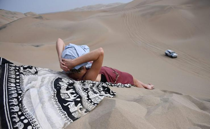Disfrutando del Dakar