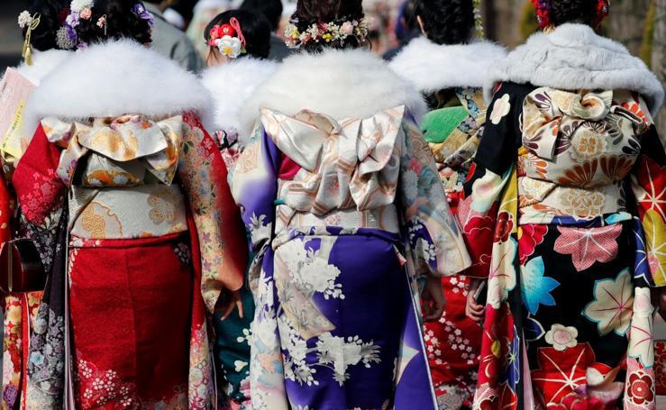 Hacerse mayor en Japón