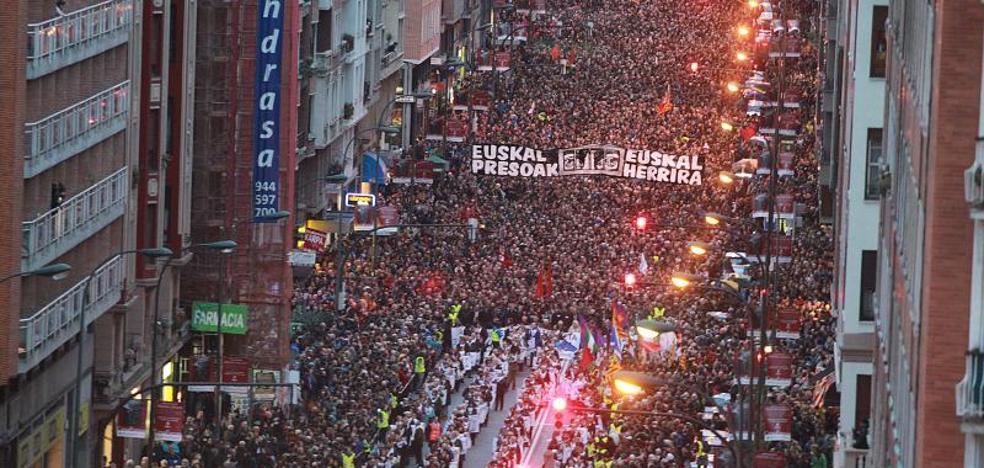 Etxerat llama a «desbordar» el sábado las calles de Bilbao en la marcha de Sare por los presos de ETA