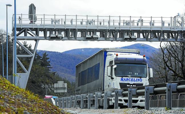 Gipuzkoa ya es el primer territorio del Estado en aplicar un peaje exclusivo para camiones