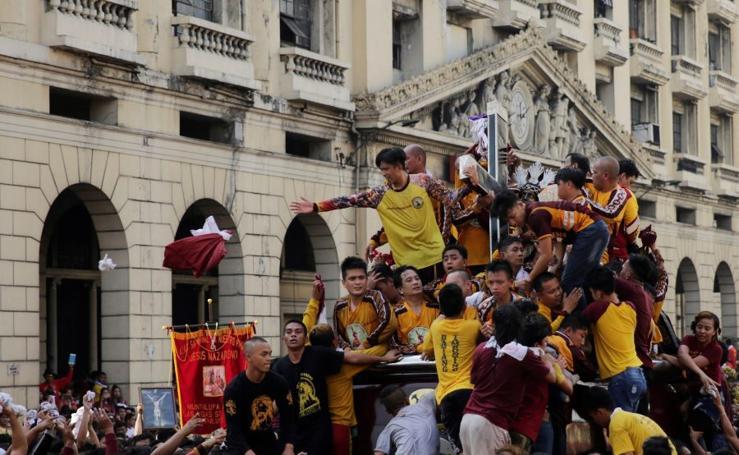 Devoción en Manila
