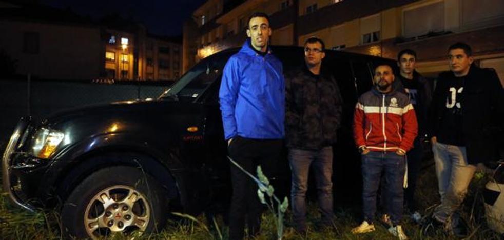 La bronca entre el 112 y siete jóvenes imprudentes atrapados en L'Angliru