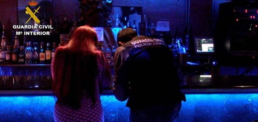 Liberadas dos menores obligadas a prostituirse en un club de Toledo