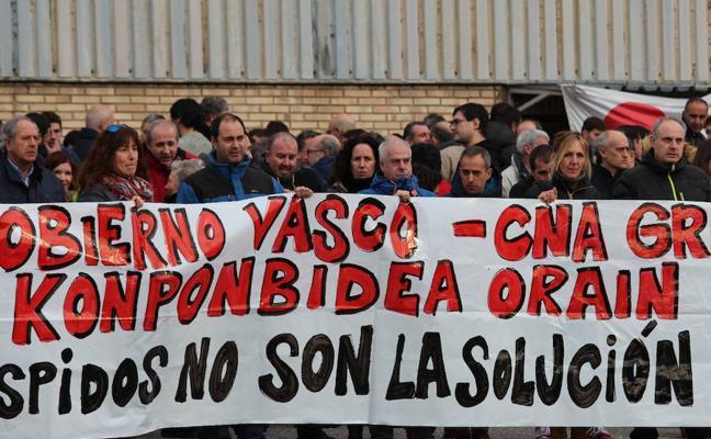 Los trabajadores de la antigua Fagor Electrodomésticos inician movilizaciones y reclaman un nuevo proyecto