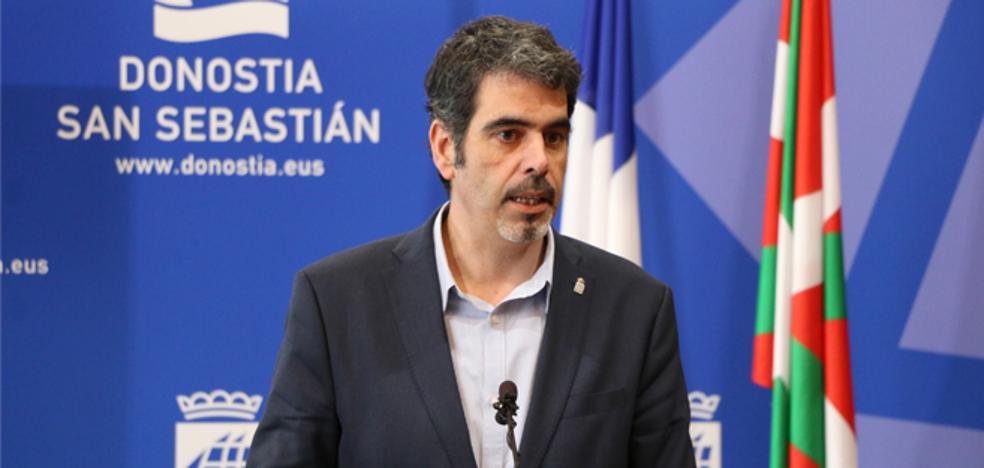 El alcalde de Donostia viaja a Madrid para pedir el cierre «inmediato» de Martutene