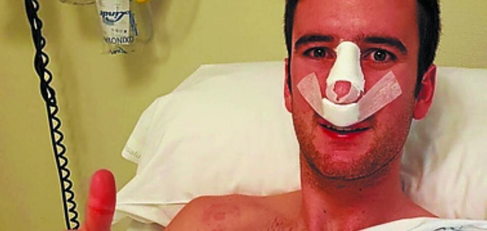 Pardina, operado de la nariz de forma satisfactoria
