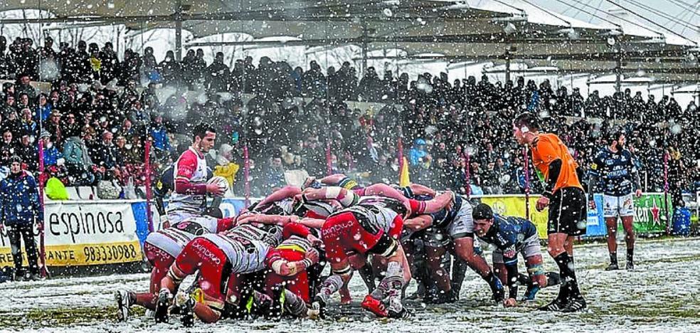 Contundente derrota del Hernani de rugby ante el VRAC en el Pepe Rojo