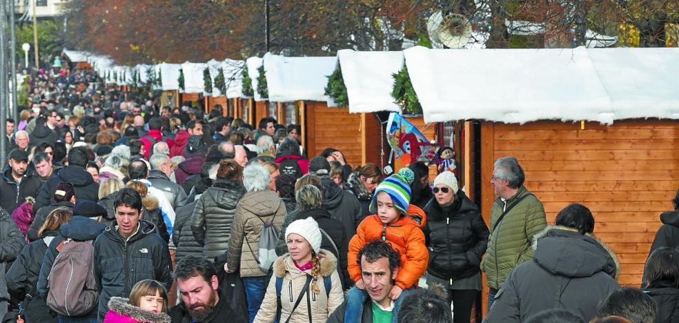 El Mercado de Navidad se ampliará el año que viene con más casetas y atracciones
