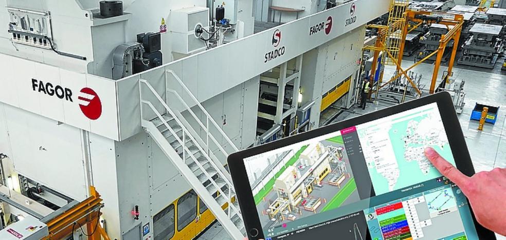 Fagor Arrasate e Ikerlan crean un sistema para el control remoto de máquinas