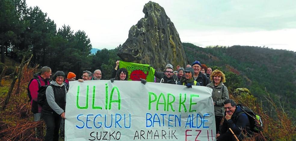 Eguzki reivindicó con una marcha un «parque seguro»