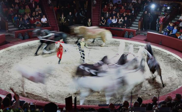 Budapest, una gran carpa de circo