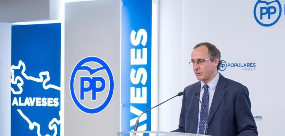 El PP pide al PNV que no deslice Euskadi por el «lío» de la autodeterminación