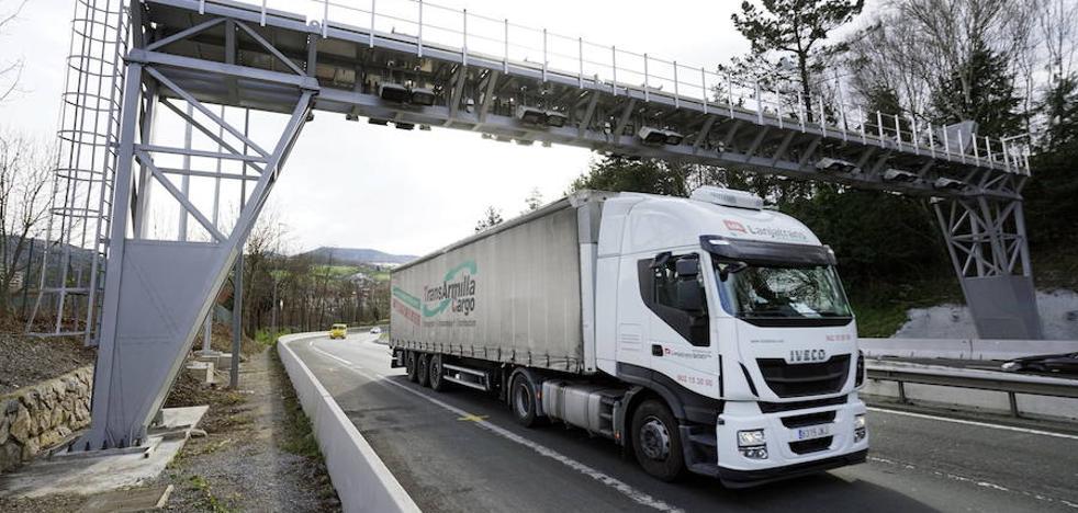 El nuevo peaje para camiones de Gipuzkoa registró 30.000 tránsitos en sus primeras 24 horas