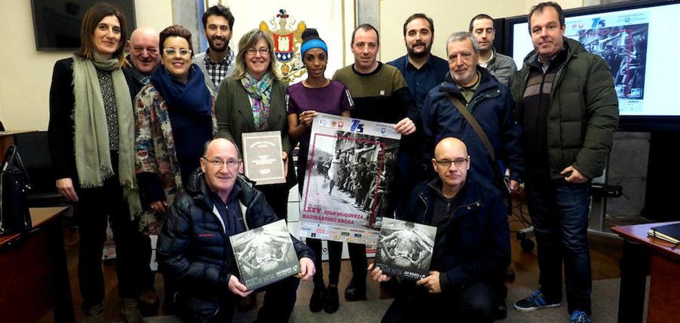 Dos juniors desafiarán el domingo el poder de los mayores en el cross Muguerza de Elgoibar