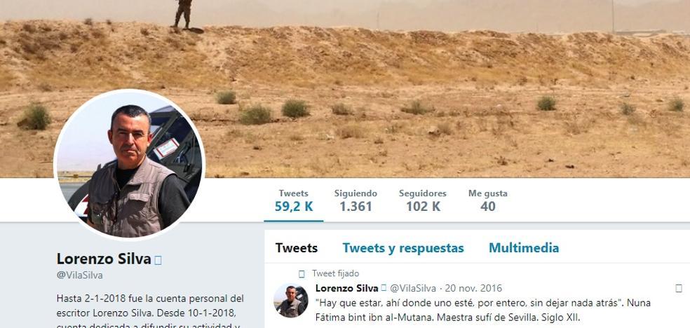 Lorenzo Silva dice adiós a Twitter: «Dejó de compensar»
