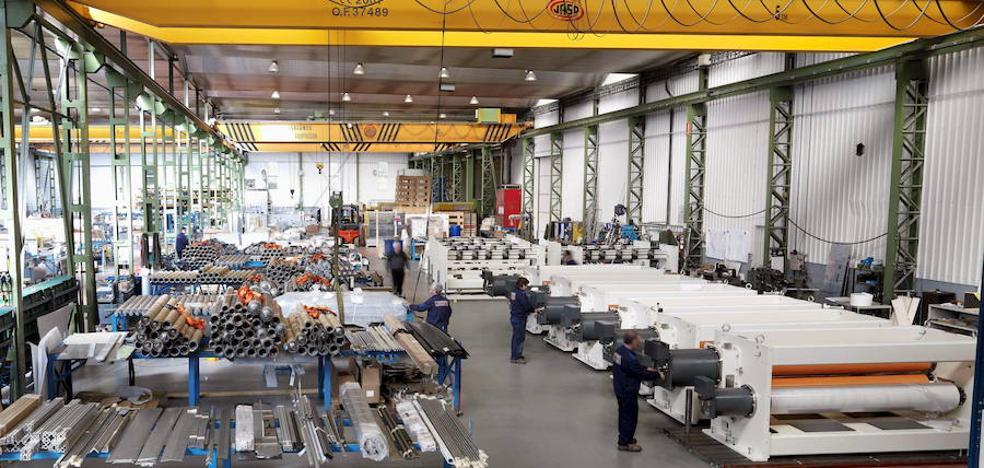 La actividad industrial de Gipuzkoa aumentó un 6% en noviembre