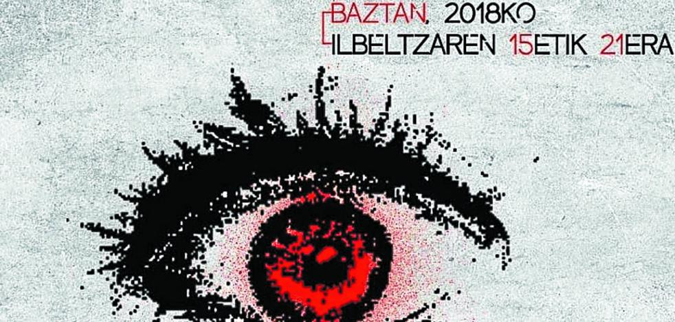 '(H)ilbeltza', la novela negra protagonista de nuevo en Baztan