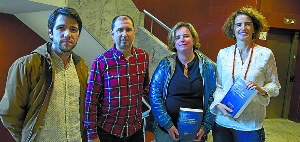 Presentación esta tarde en Kultur Etxea de un libro sobre la historia de Gipuzkoa
