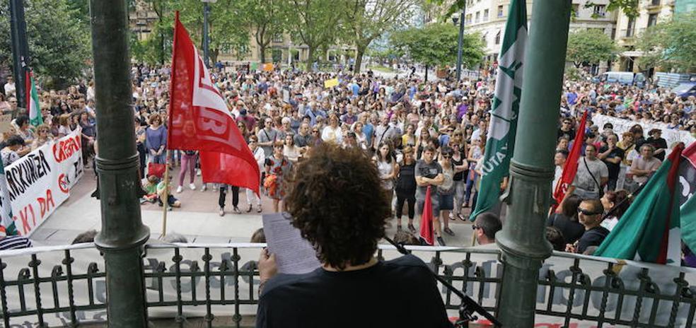 Nuevas jornadas de huelga en la enseñanza pública vasca