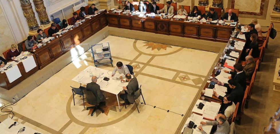 El pleno del Ayuntamiento de San Sebastián, en directo
