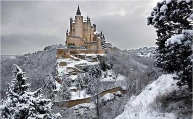 La verdad sobre la foto del Alcázar nevado que ha conquistado las redes