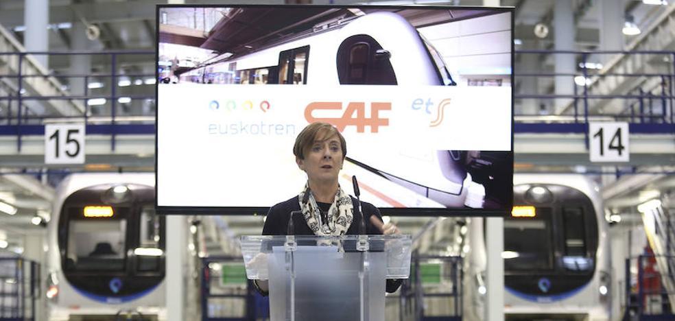 ETS, Euskotren y CAF firman un acuerdo que busca mejorar la seguridad y la eficacia con un control inteligente del tren