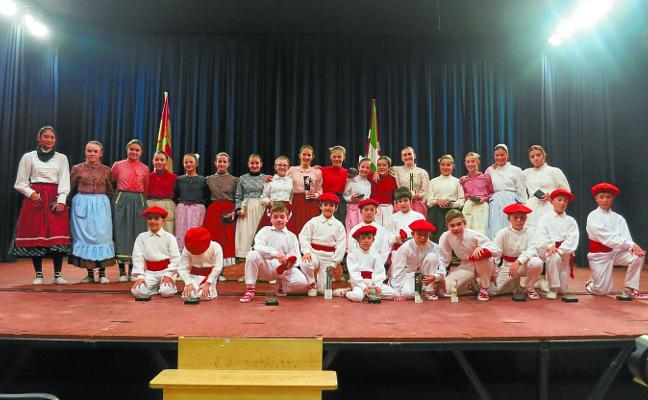 Los campeonatos infantiles de Aurresku y Neskatxena arrancan mañana en Legazpi