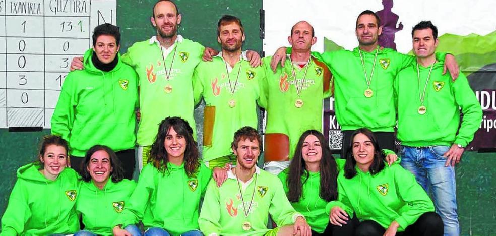 El Beti Gazte compite desde mañana en el Campeonato de Euskadi de sokatira