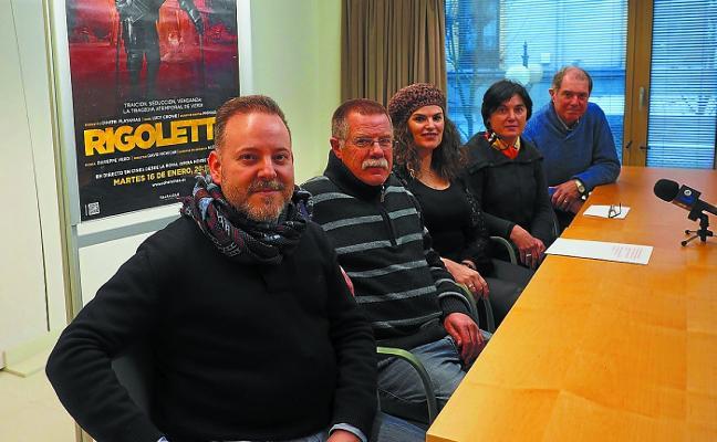La temporada operística de este año arrancará el martes con 'Rigoletto'