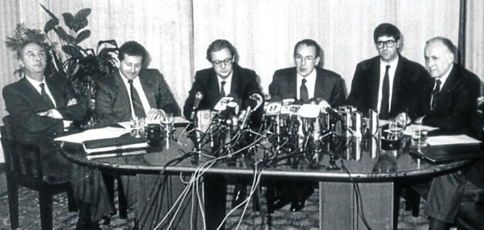 30 aniversario del Pacto de Ajuria Enea