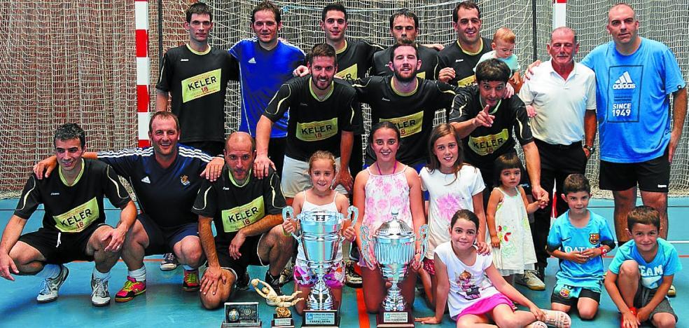 El Keler marca distancias repecto a los rivales en el Torneo de fútbol sala