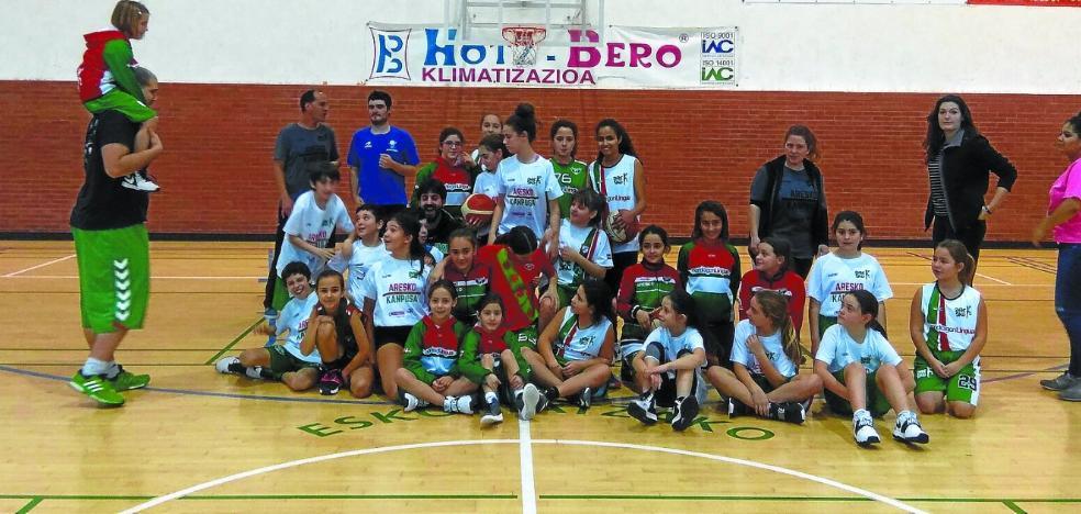Éxito en el campus Aresko de baloncesto
