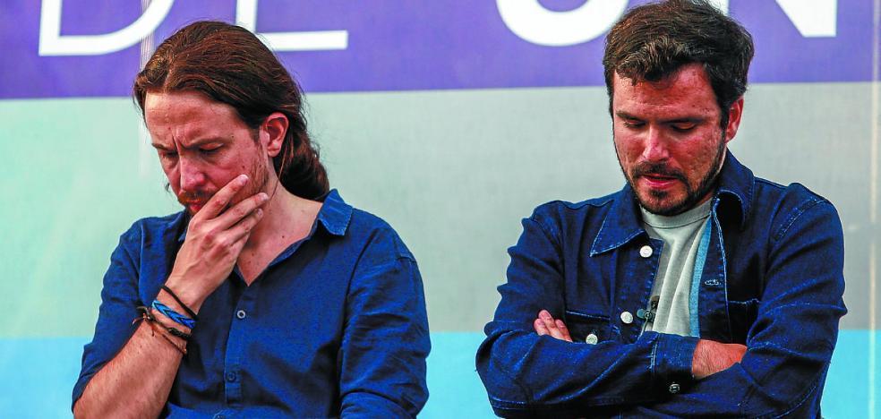 IU ahonda la crisis de Unidos Podemos al exigir una mayor cuota de poder interno
