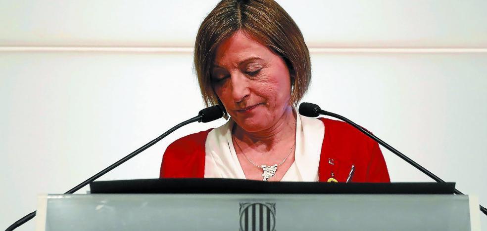 La renuncia de Forcadell agudiza la desbandada en el secesionismo