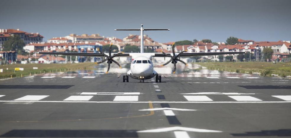 281.859 viajeros, el mejor dato de los últimos cinco años del aeropuerto de Hondarribia