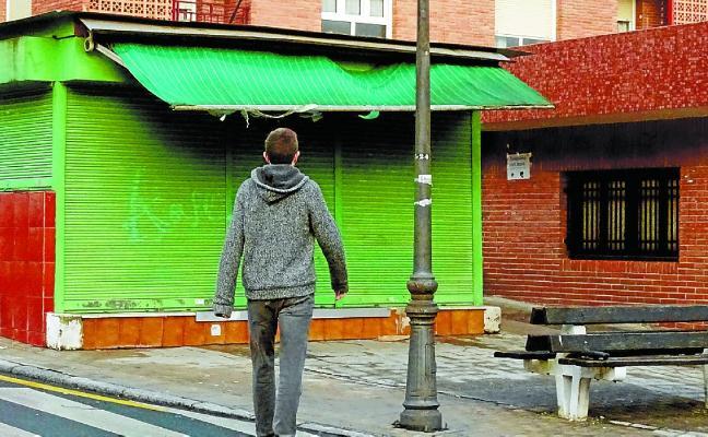 Se retirará el quiosco de la calle Aralar por deterioro